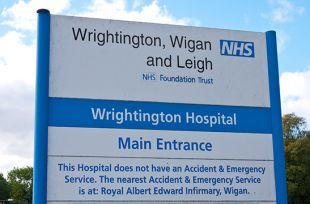 Wrightington Hospital, Appley Bridge, Wigan, Lancashire, UK.
